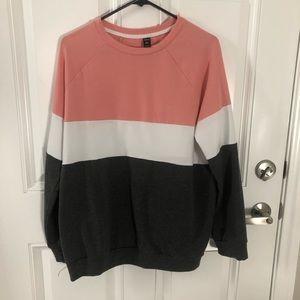 Women's colorblock sweater